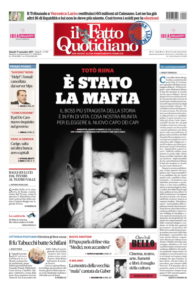 Il Fatto Quotidiano Pdf